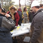 Formation terrain, Benthos, extraction des organismes
